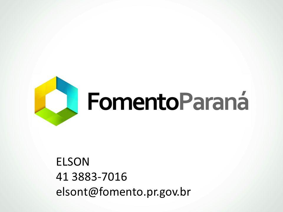 ELSON 41 3883-7016 elsont@fomento.pr.gov.br