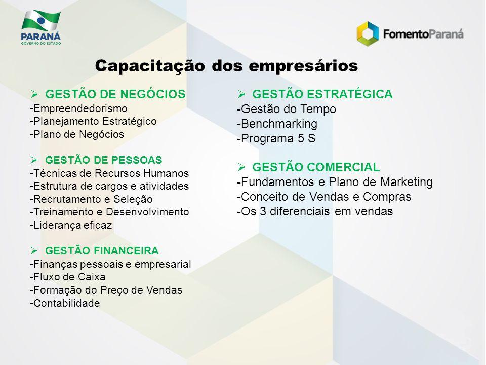 GESTÃO DE NEGÓCIOS -Empreendedorismo -Planejamento Estratégico -Plano de Negócios GESTÃO DE PESSOAS -Técnicas de Recursos Humanos -Estrutura de cargos
