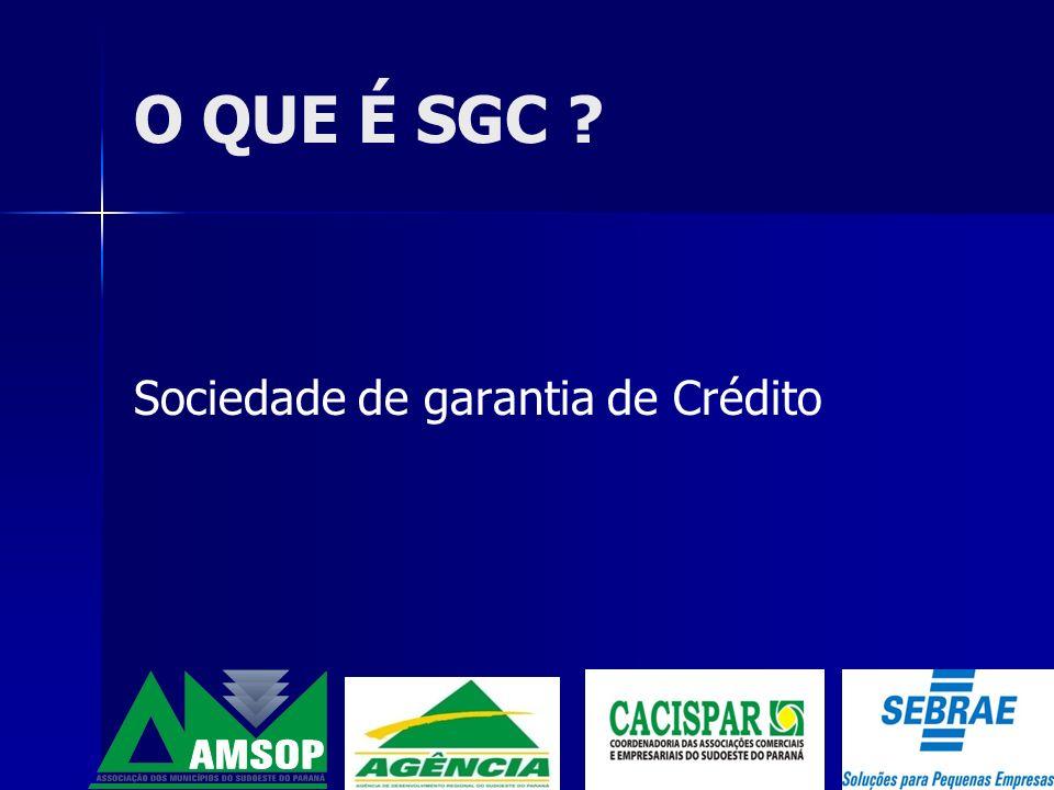 Modalidades de Crédito Capital de Giro: Investimento Fixo Prazo: até 24 meses Prazo: até 36 meses Taxa: 1,8% a.m.