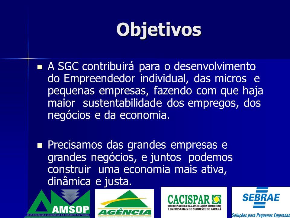 A CACISPAR fez parte desde os primeiros passos da SGC.