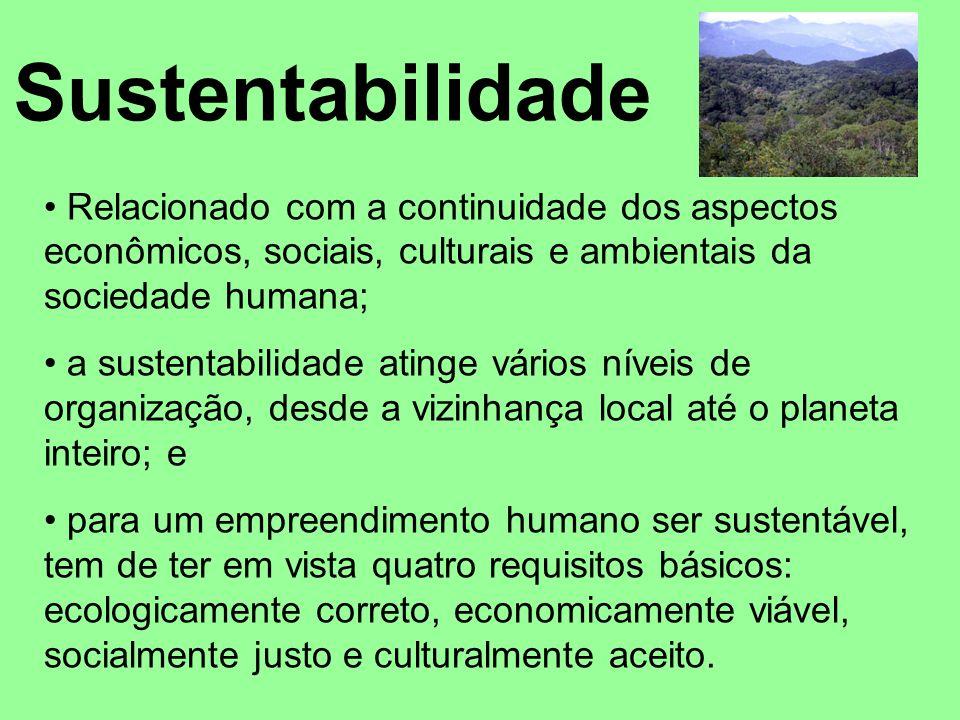 A Conferência das Nações Unidas sobre Meio Ambiente e Desenvolvimento - CNUMAD (mais conhecida por Rio-92 ou Eco-92 ) buscou o consenso internacional para a operacionalização do conceito do desenvolvimento sustentável.