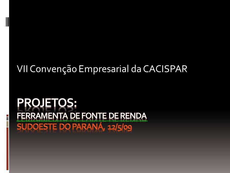 VII Convenção Empresarial da CACISPAR