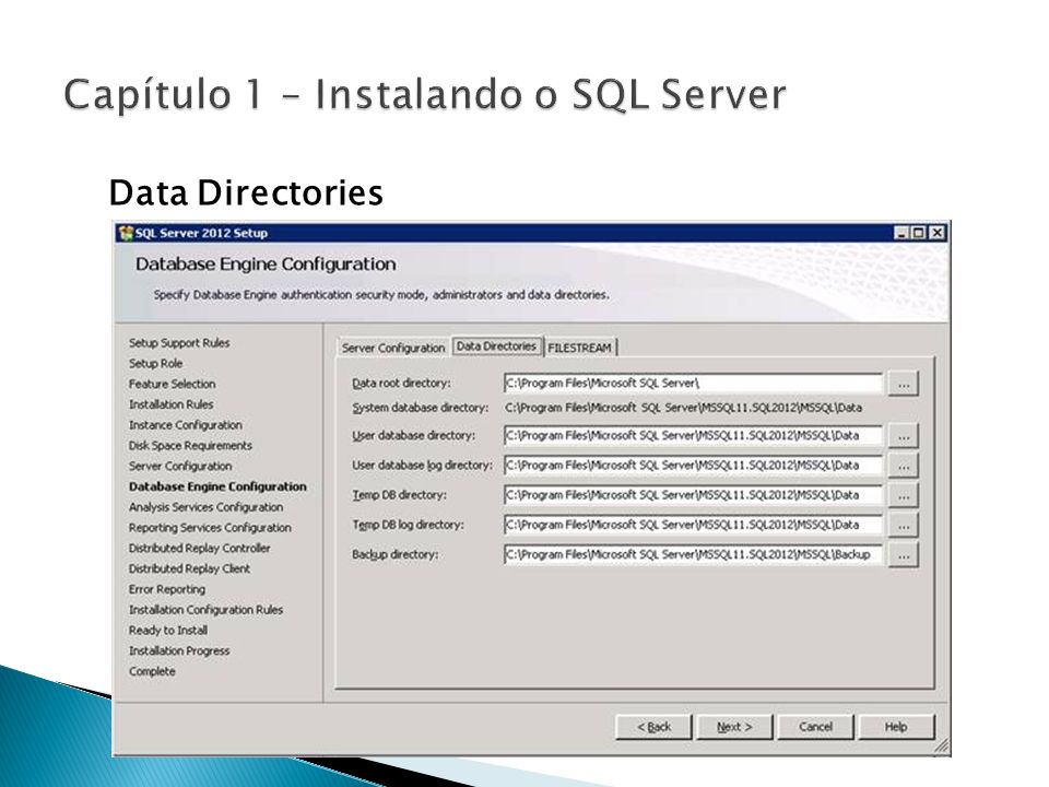 Data Directories