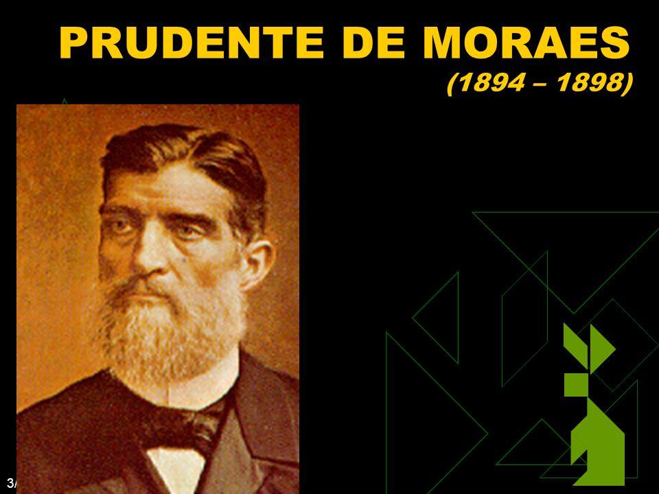 3/12/2014 35 PRUDENTE DE MORAES (1894 – 1898)