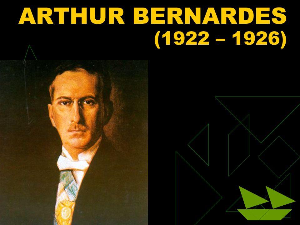 3/12/2014 87 ARTHUR BERNARDES (1922 – 1926)