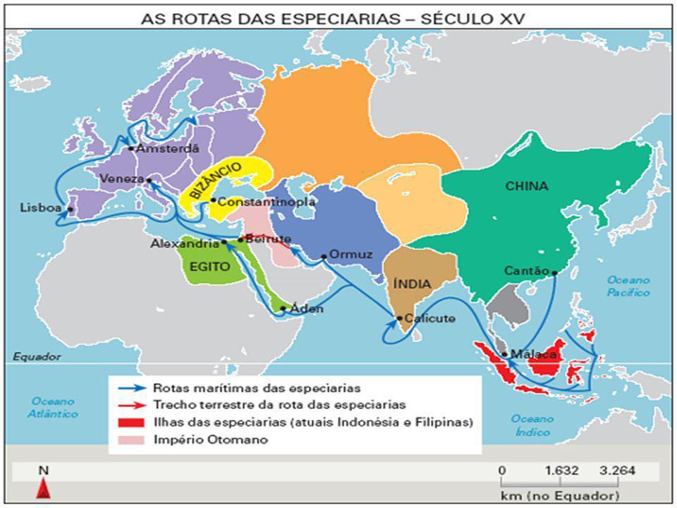 Principais especiarias Cravo da Índia Cravo da Índia Pimenta do reino Pimenta do reino Noz Moscada Noz Moscada