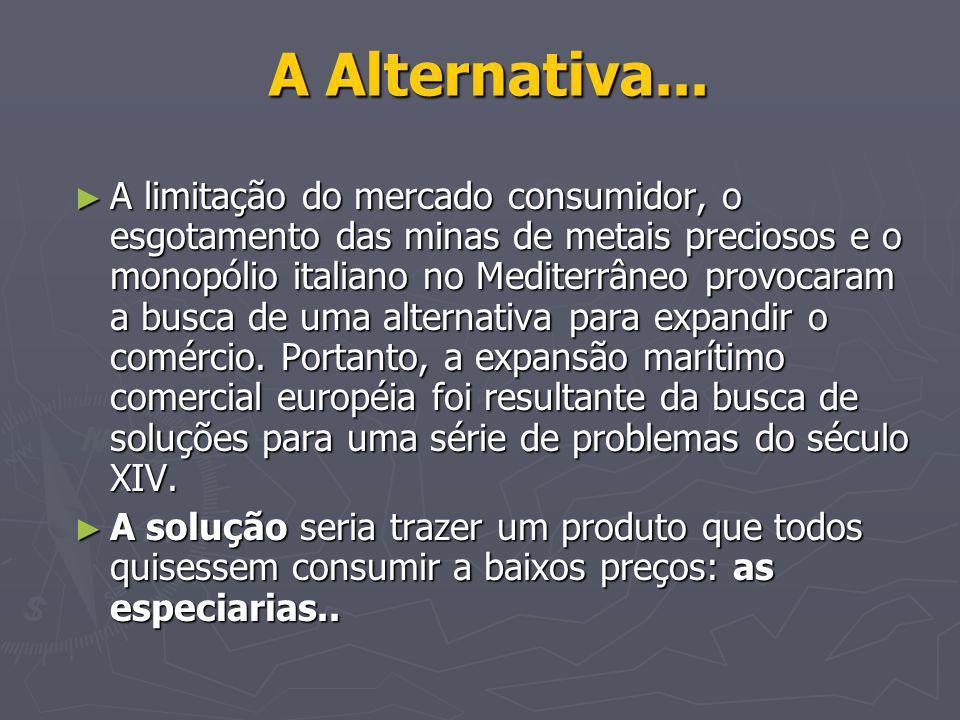 A Alternativa...