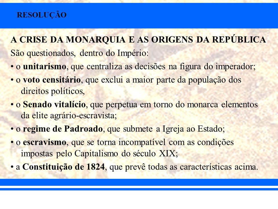 14) Sobre a legislação abolicionista do tráfico e da escravidão no Brasil do século XIX, pode-se afirmar que: A) a Lei de 1831 extinguiu definitivamente o tráfico de escravos ao sul da linha do Equador, sendo o primeiro grande baque no sistema escravista brasileiro.