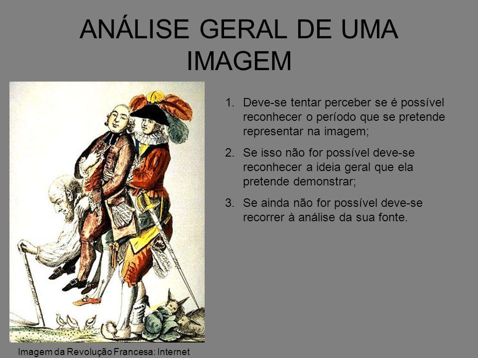 ANÁLISE ESPECÍFICA DE UMA IMAGEM 1.É Foto, Pintura ou Charge.