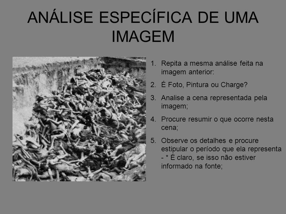 As imagens representam que acontecimento histórico.