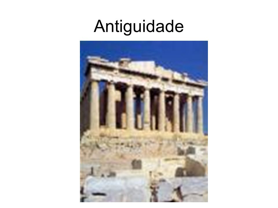 Antiguidade