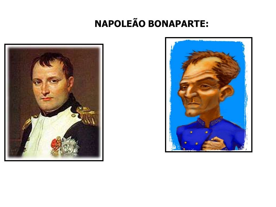 NAPOLEÃO BONAPARTE: