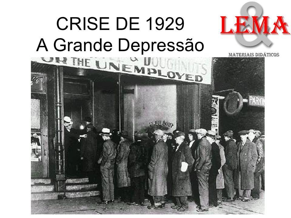 CRISE DE 1929 A Grande Depressão && LeMA MATERIAIS DIDÁTICOS