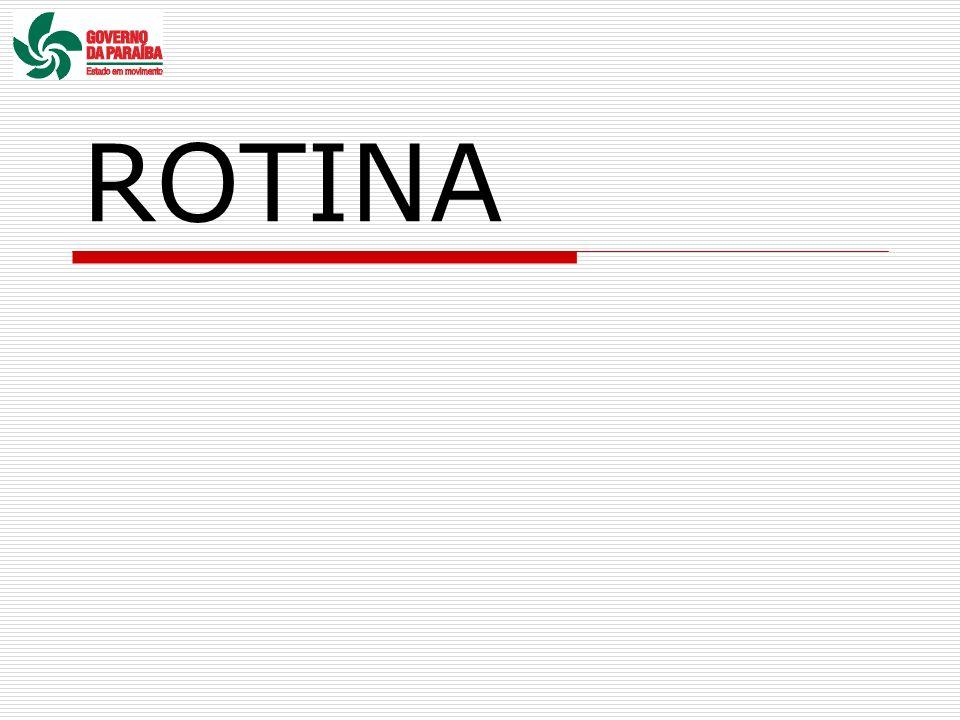 ROTINA