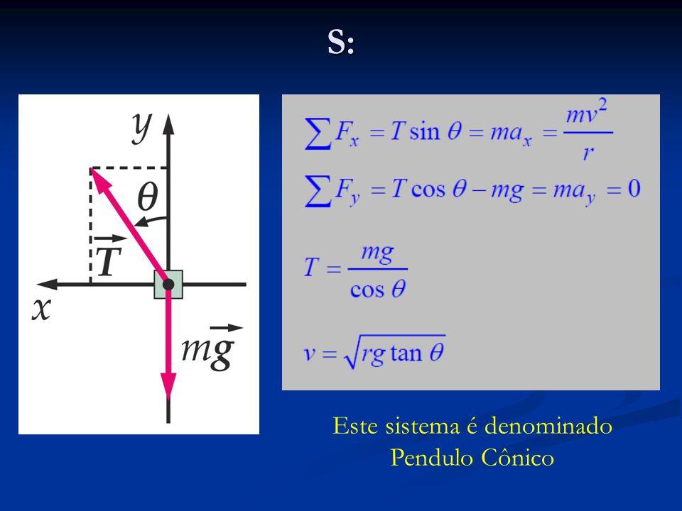 S: Este sistema é denominado Pendulo Cônico
