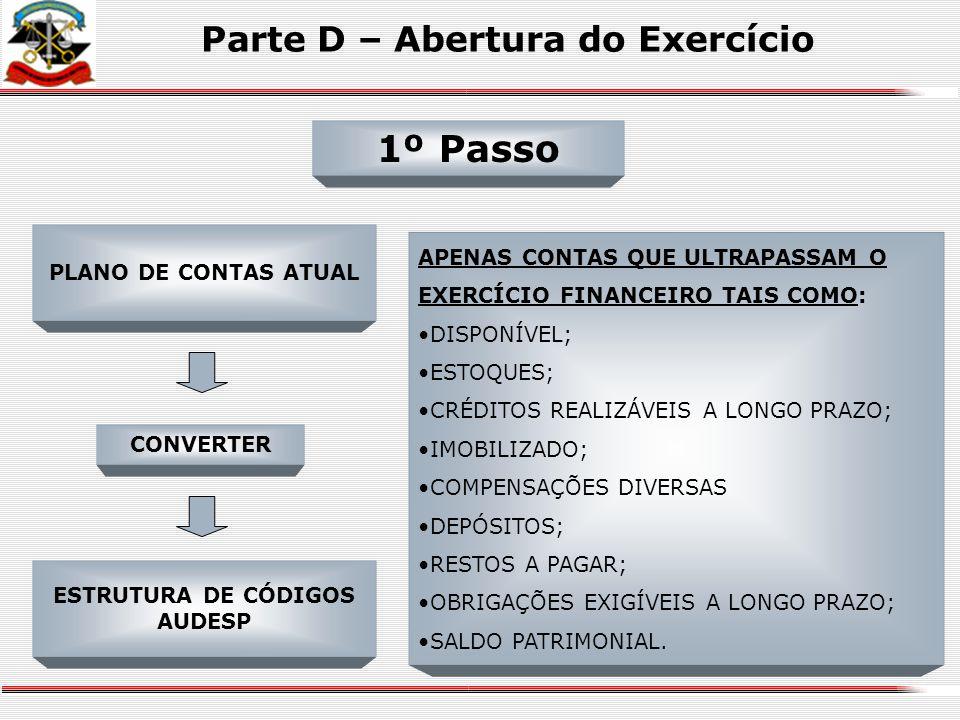 Agenda - Parte Prática Parte E – Movimentações do Exercício Parte D - Abertura do Exercício Parte F – Encerramento do Exercício Parte G – Levantamento