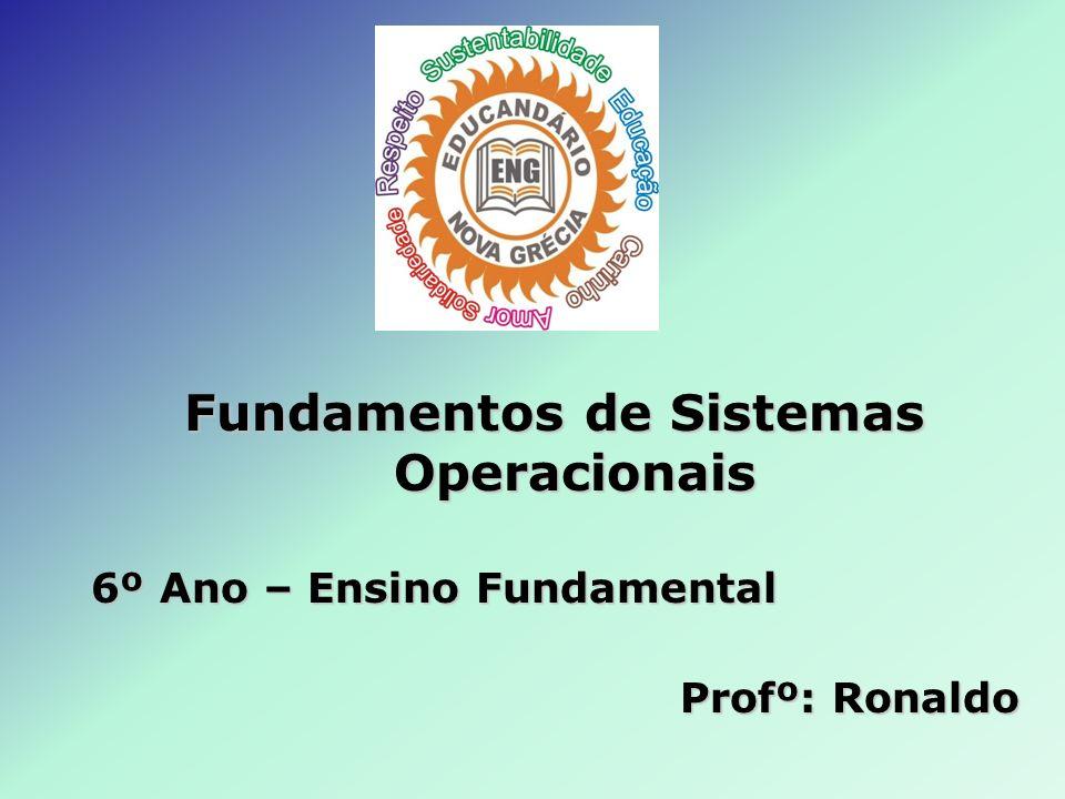Fundamentos de Sistemas Operacionais 6º Ano – Ensino Fundamental Profº: Ronaldo