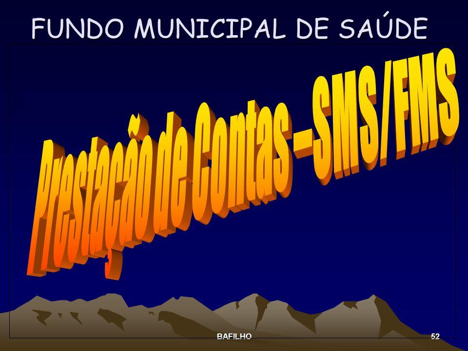 BAFILHO 52 FUNDO MUNICIPAL DE SAÚDE