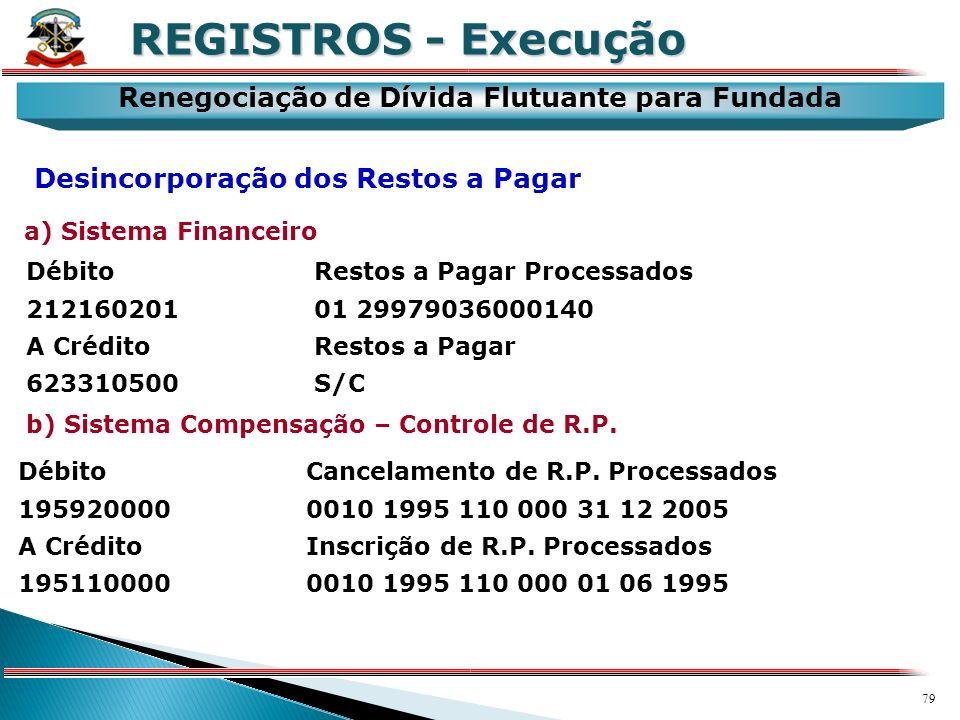 78 X REGISTROS - Execução Dívida Ativa Baixa de Dívida Ativa por Cancelamento Sistema Patrimonial Débito Dívida Ativa - Cancelamentos 523170130S/C A C