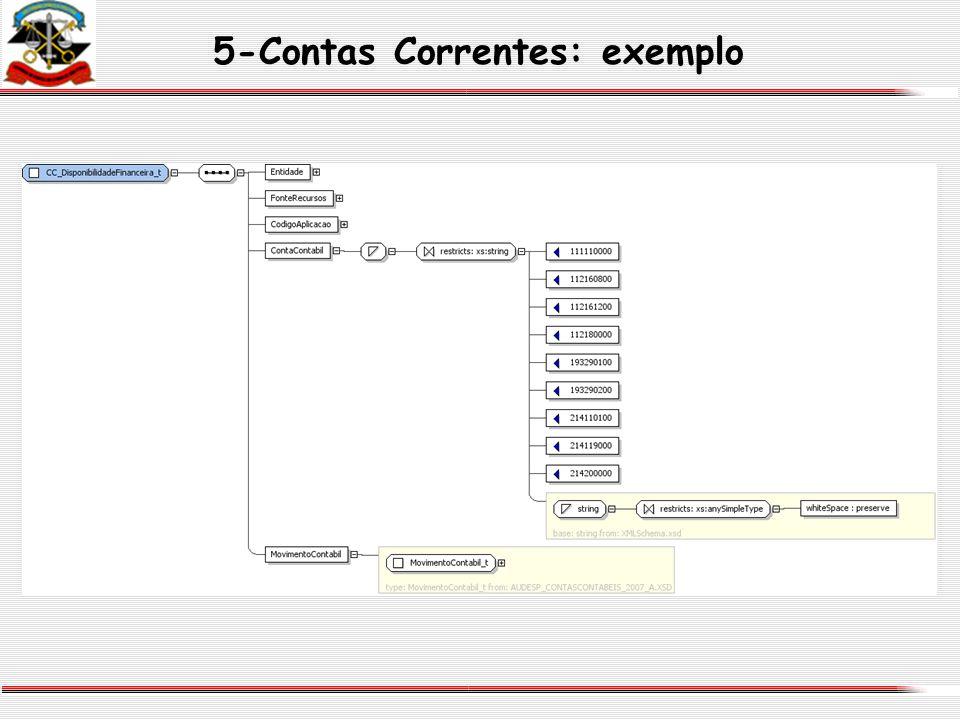 5-Contas Correntes: exemplo