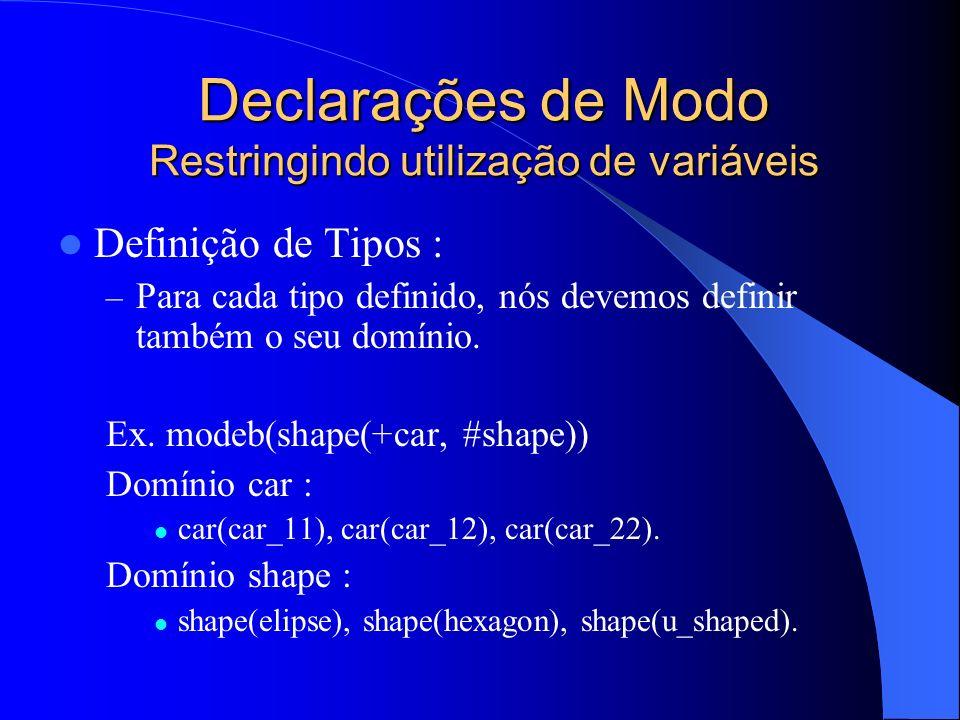 Algoritmo da Bottom Clause 1.Se não existe nenhum modeh em M tal que a(m) e então retorne.