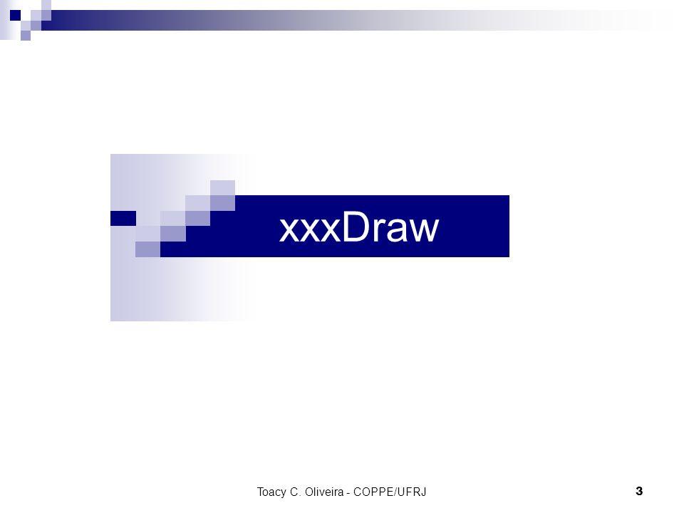 Toacy C. Oliveira - COPPE/UFRJ 3 xxxDraw