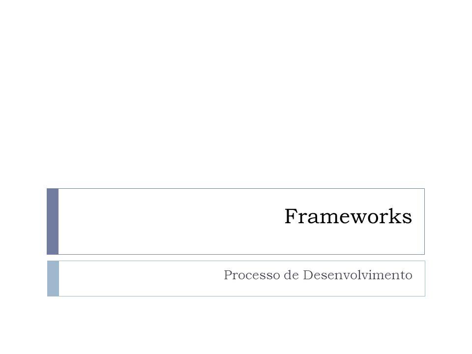 Frameworks Processo de Desenvolvimento
