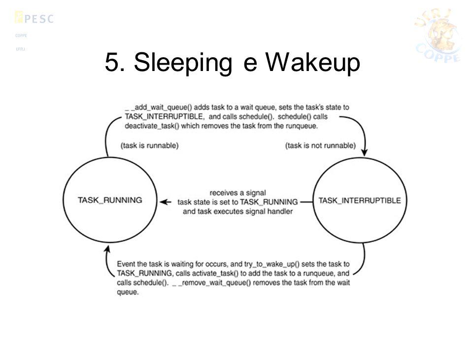 5. Sleeping e Wakeup
