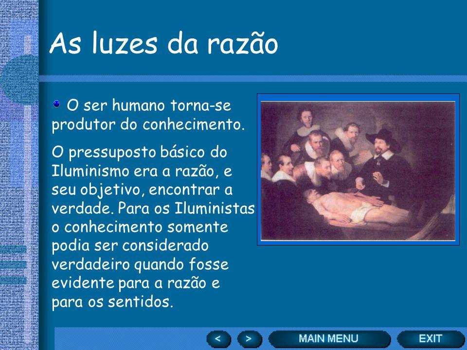 As luzes da razão A enciclopédia que iluminava.