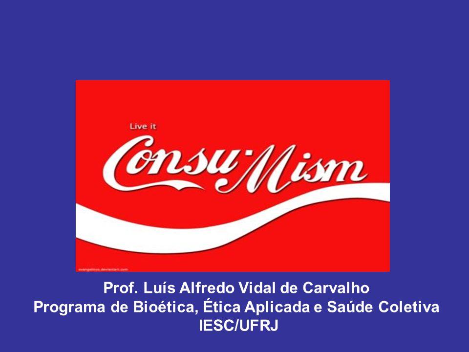 Prof. Luís Alfredo Vidal de Carvalho Programa de Bioética, Ética Aplicada e Saúde Coletiva IESC/UFRJ