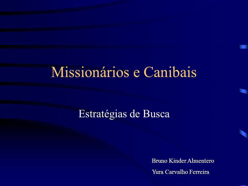 Missionários e Canibais Estratégias de Busca Bruno Kinder Almentero Yura Carvalho Ferreira
