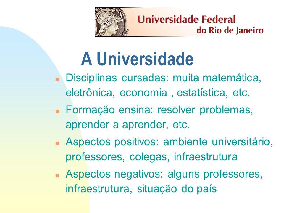 Apresentação Adriano Joaquim de Oliveira Cruz adriano@nce.ufrj.br Coordenador do Curso de Ciência da Computação adriano@nce.ufrj.br Miguel Jonathan jo