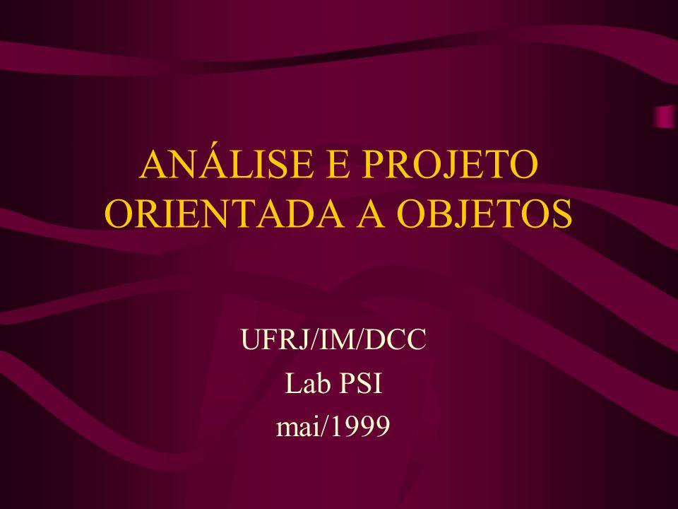2 Sumário Conceitos de Análise e Projeto Orientados a Objetos Rose 98 ®