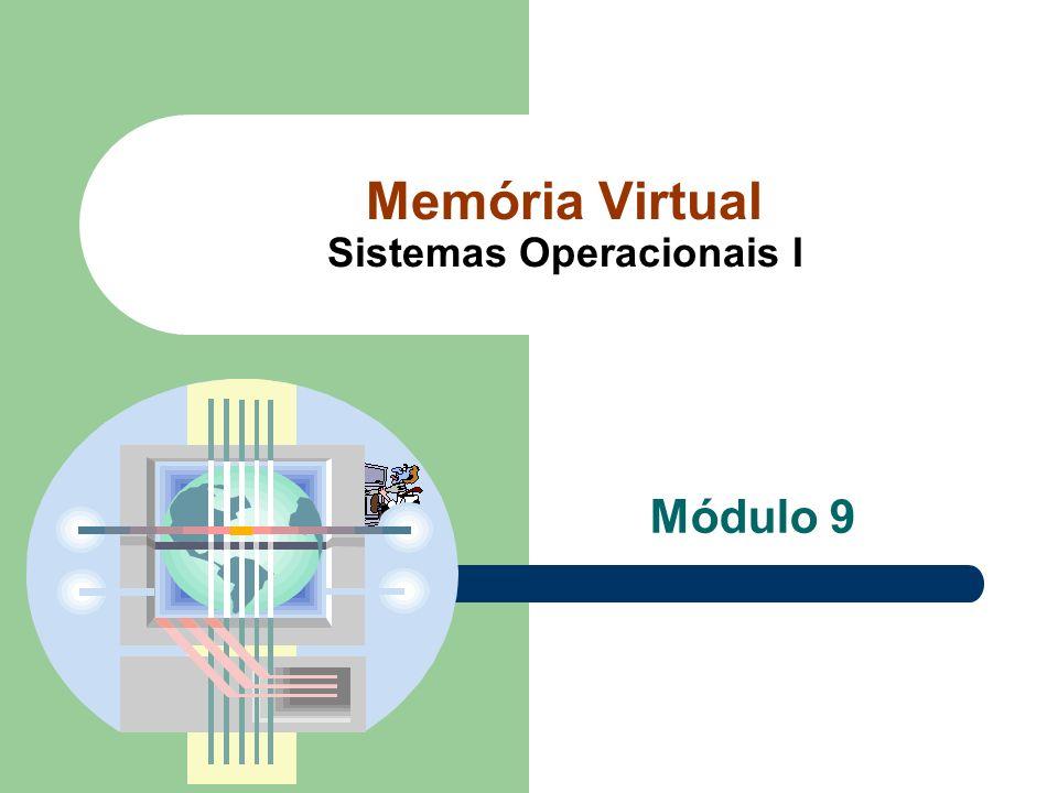 Memória Virtual Sistemas Operacionais I Módulo 9
