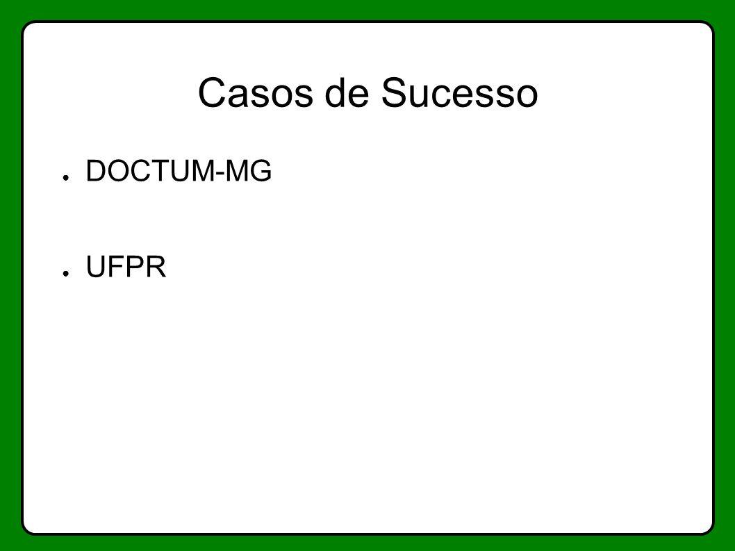Casos de Sucesso DOCTUM-MG UFPR
