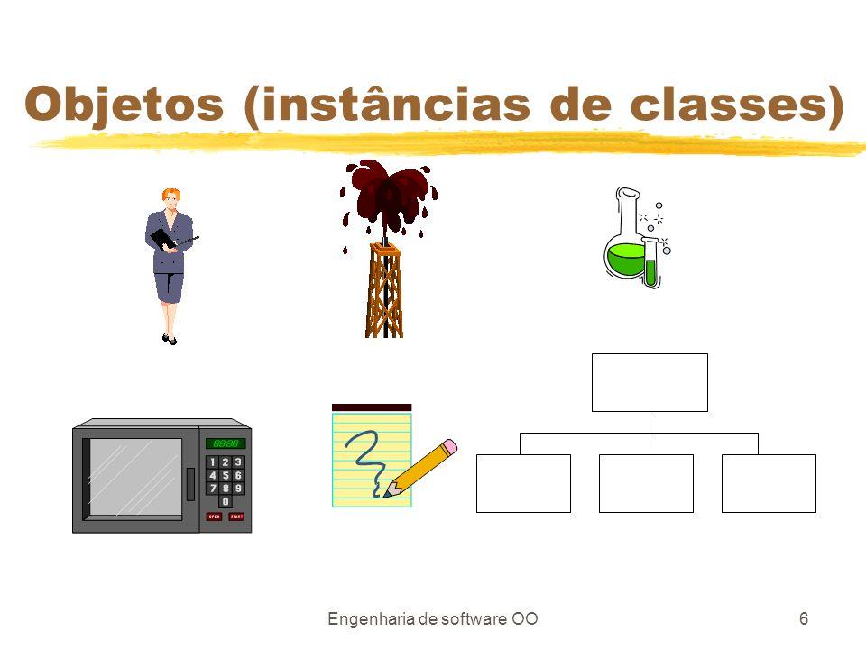 Engenharia de software OO6 Objetos (instâncias de classes)