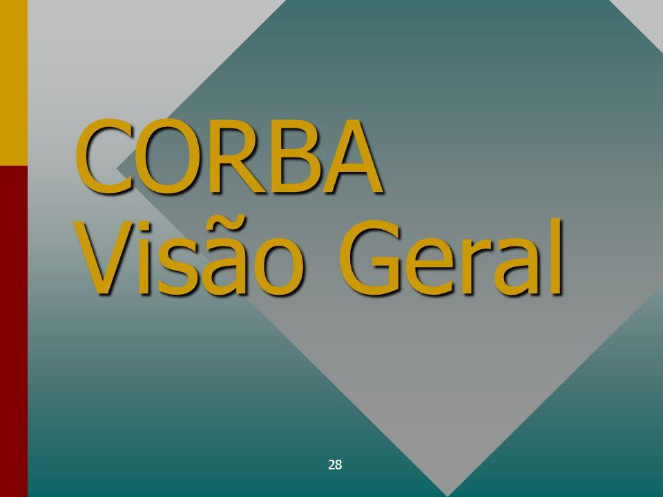 28 CORBA Visão Geral