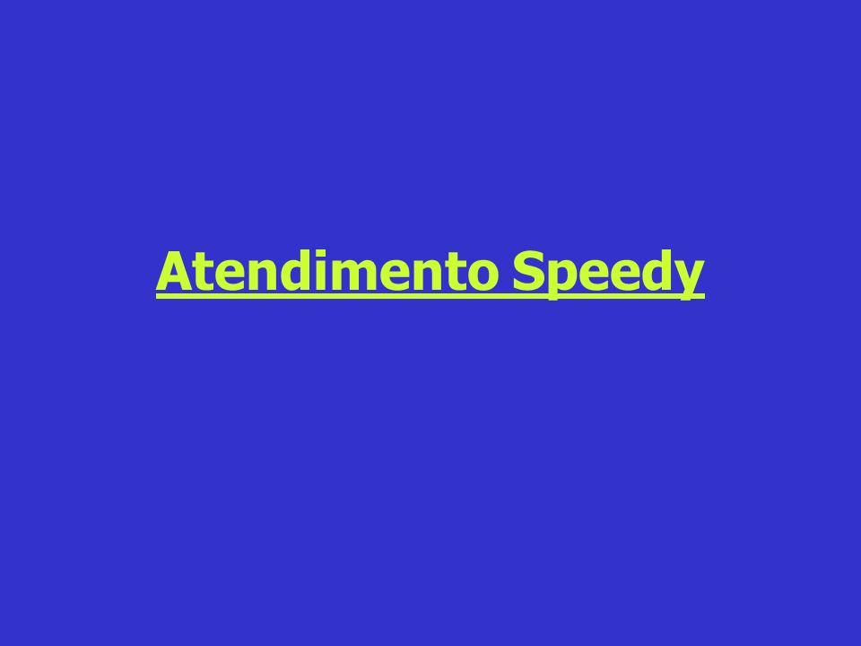 Atendimento Speedy