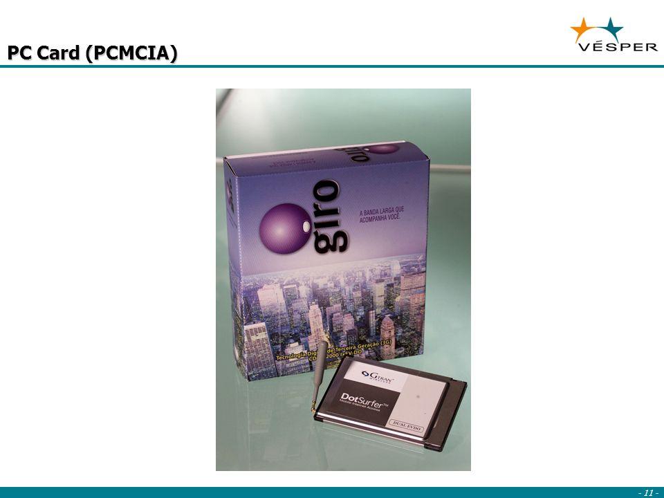 - 11 - PC Card (PCMCIA)