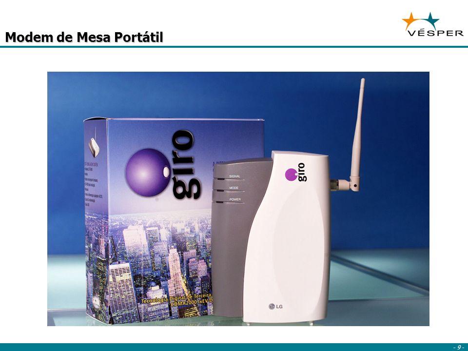 - 10 - Acesso a e-mail e Internet a qualquer hora em qualquer lugar Foco no mercado corporativo E-mail Intranet/ VPN Automação força de vendas Serviços de campo Telemetria Internet Rápida Móvel