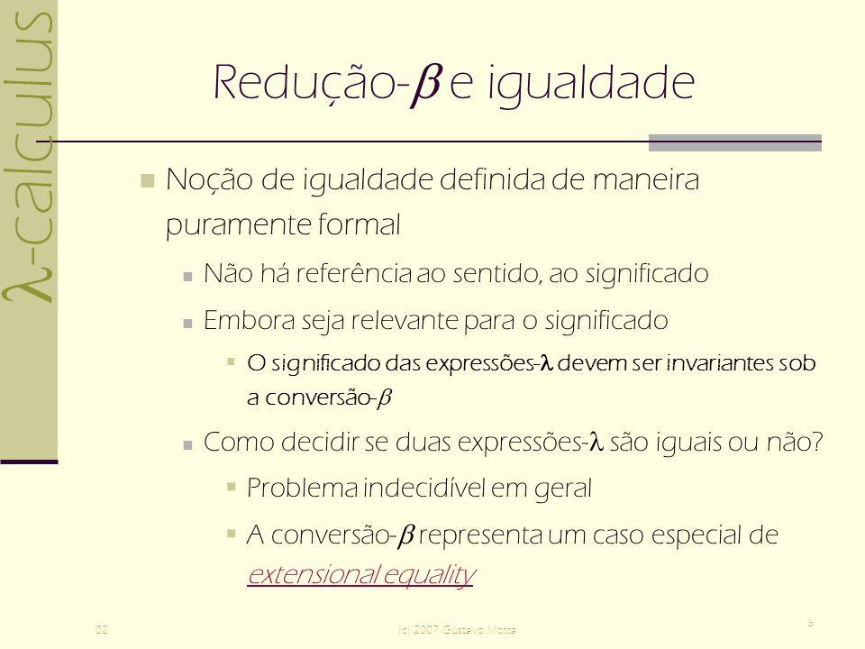 -calculus 02(c) 2007 Gustavo Motta 17 Bibliografia Revesz, G.