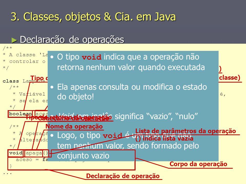 (C) 2008 Gustavo Motta17 Declaração de operações Declaração de operações Estilo Estilo Nomes de operações refletem ações que são efetuadas sobre o est