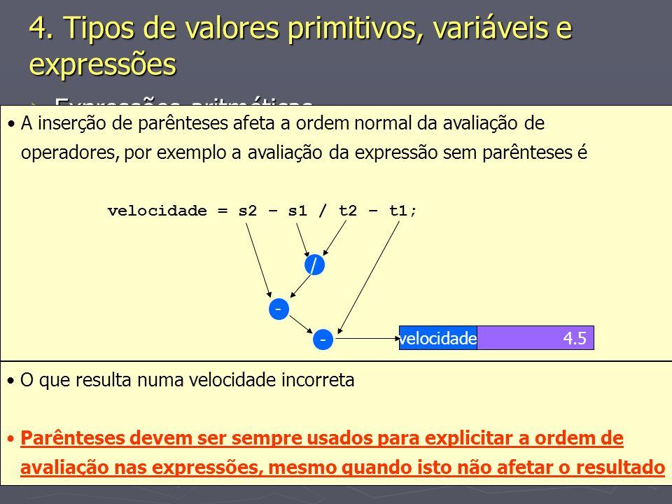 (C) 2008 Gustavo Motta27 Expressões aritméticas Expressões aritméticas Exemplos Exemplos Fórmula para cálculo da velocidade média Fórmula para cálculo da velocidade média Em Java, têm-se Em Java, têm-se double velocidade = 0, t1 = 15, t2 = 20, s1 = 10, s2 = 20;...