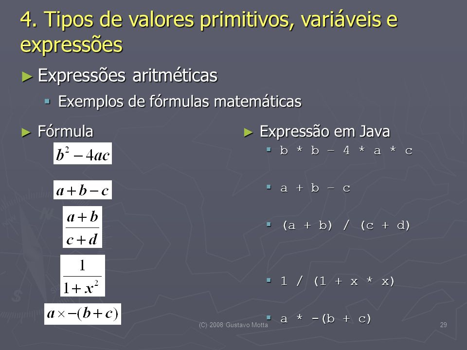 (C) 2008 Gustavo Motta29 4.