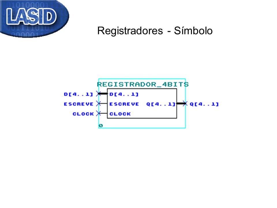Registradores - Símbolo