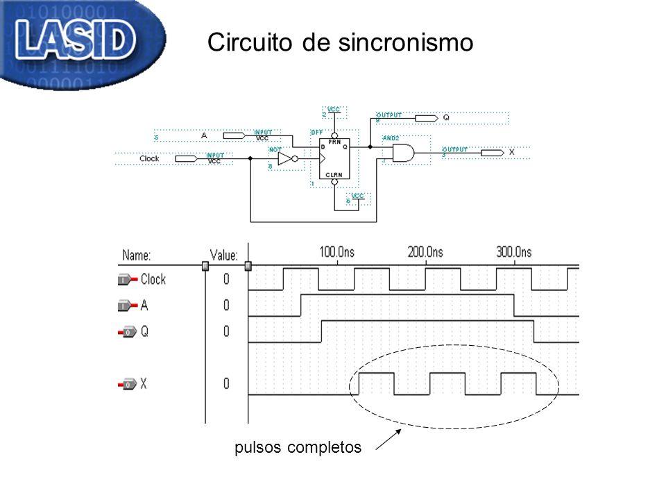 Circuito de sincronismo pulsos completos