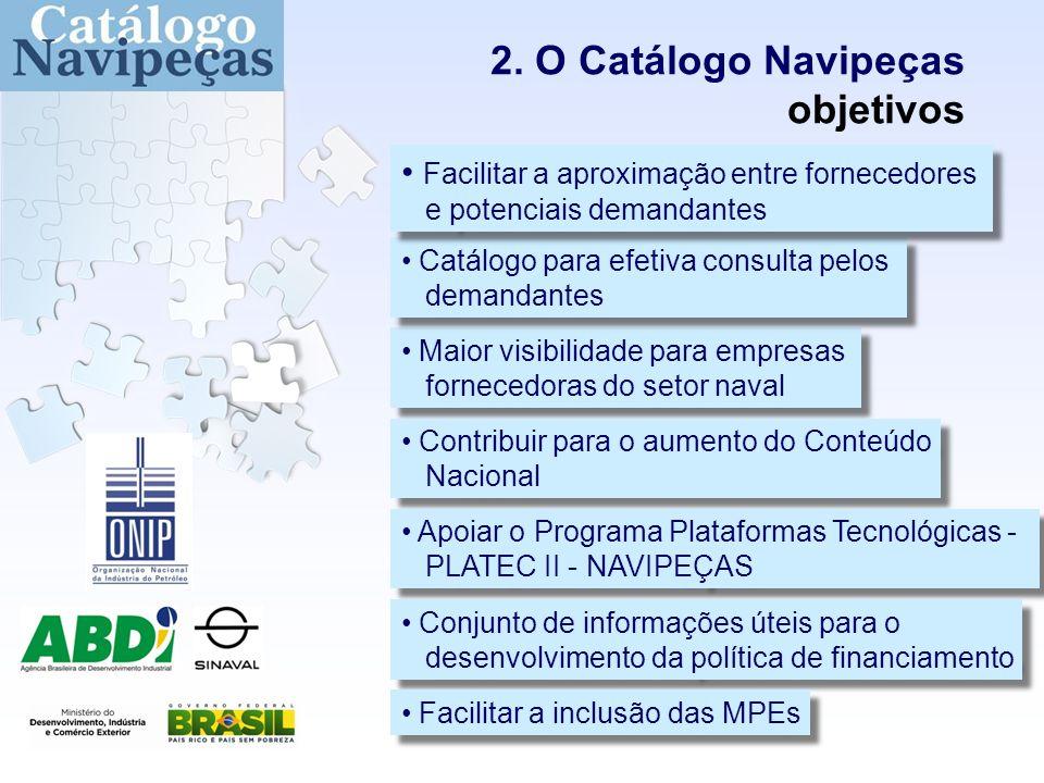 Levantamento de informações - bens e serviços para a indústria naval 2.