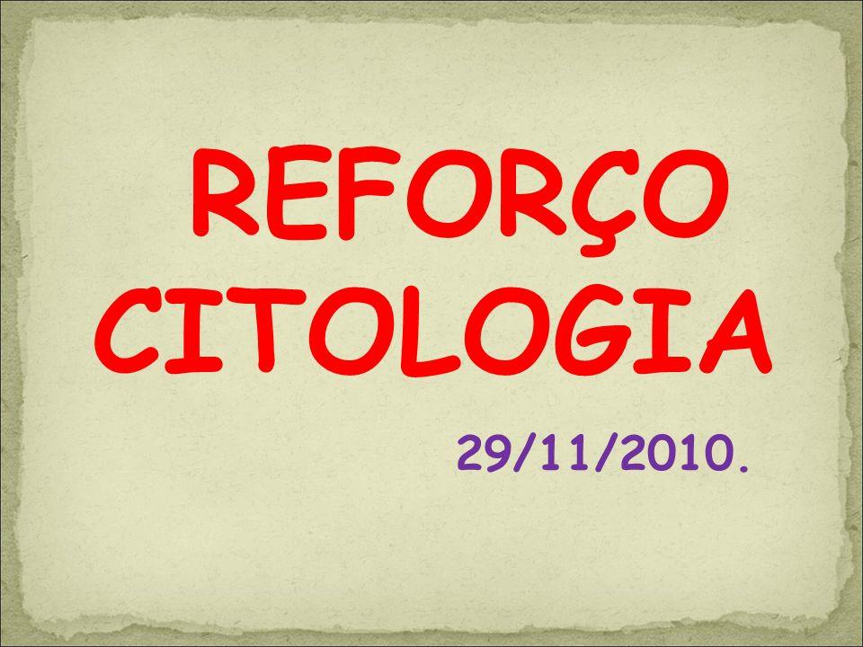 REFORÇO CITOLOGIA 29/11/2010.