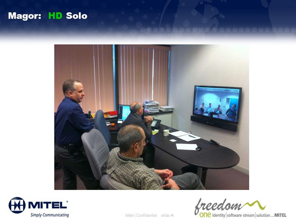 slide 29Mitel | Confidential Magor: HD Solo