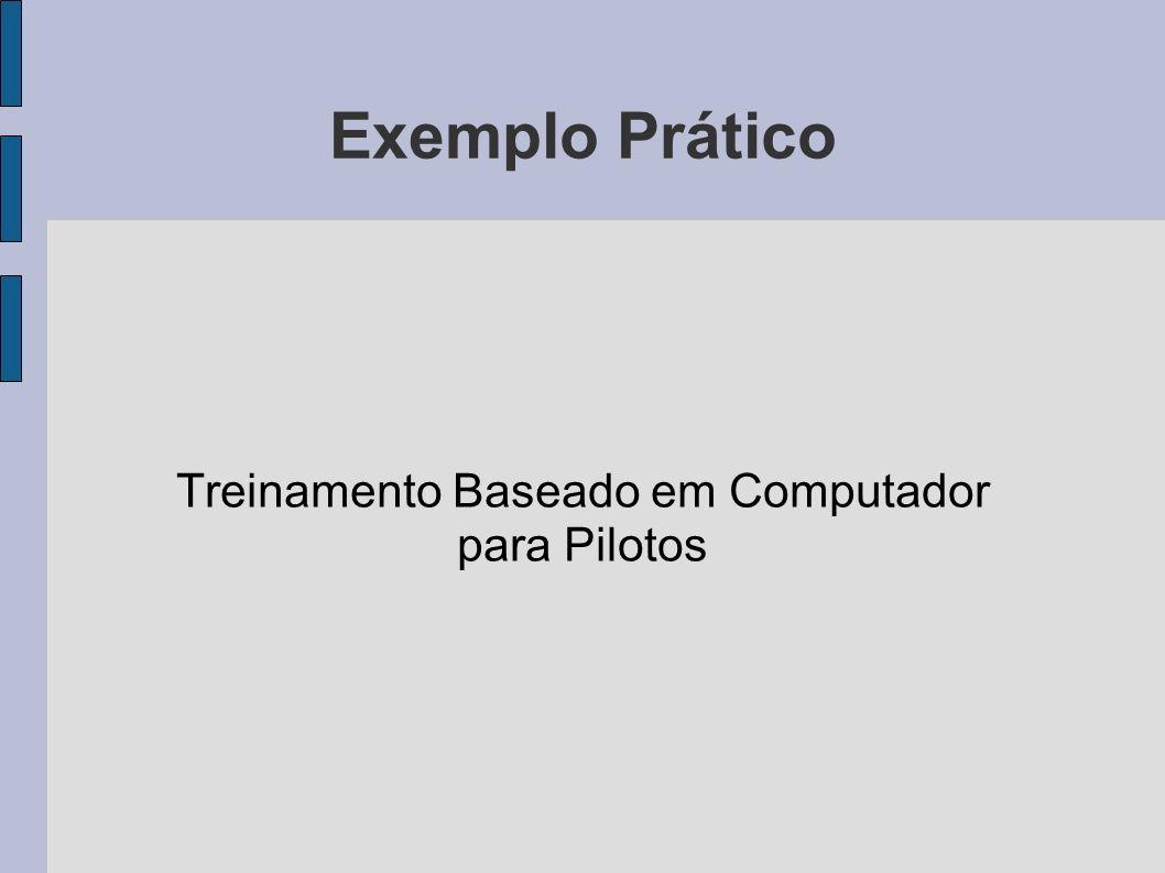 Exemplo Prático Treinamento Baseado em Computador para Pilotos